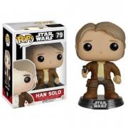 Pop! Vinyl Star Wars The Force Awakens Han Solo Pop! Vinyl Bobble Head Figure