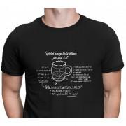 Babičkářství Originální tričko Energetická bilance piva