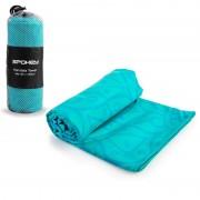 Rychleschnoucí plážový ručník Spokey Mandala 80x160 - modrý