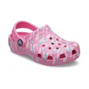 Crocs Classic Majestic Creature Klompen Kinder Pink Lemonade 27