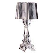 Kartell Bourgie Lampa, Silver