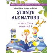 Stiinte ale naturii - manual pentru clasa a IV-a- (partea I+II+set CD)/Cleopatra Mihailescu