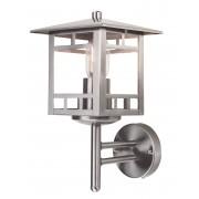 Franssen Verlichting Finmotion wandlamp staand vierkant - RVS