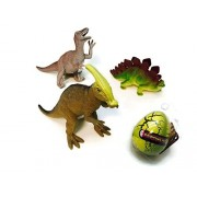 Dinosaur Stegosaurus Big Egg Bundle Multi Toy Dinosaurs Clade-Gravim Growing Hatching Egg