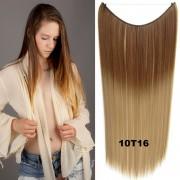 Flip in vlasy - 55 cm dlouhý pás vlasů - odstín 10 T 16 - Světové Zboží
