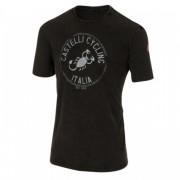 Castelli Armando T-Shirt - L zwart T-shirts