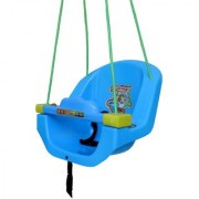 Baby Swing with Horn and Music. (Blue)