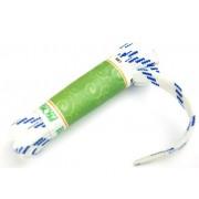 PROMA Šněrovadla (tkaničky) SPORT plochá 270p0005 bílá - modrá 120 cm