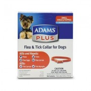 Adams Plus Flea & Tick Collar for Small Dogs, 15-in