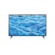 Televizor LED LG 49UM7100PLB, 123 cm, 4K UHD, Smart TV, Wi-Fi, Bluetooth, CI+, AI Smart, Procesor Quad Core, Clasa energetica, A, Negru