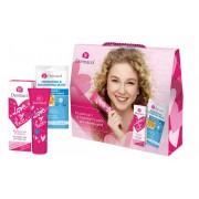 Dermacol Love My Face Brightening Care pro ženy denní pleťová péče 50 ml + pleťová maska Hydrating & Nourishing 15 ml dárková sada
