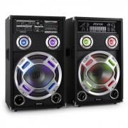 Skytec KA-12 set di altoparlanti karaoke 600W RMS