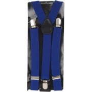 Eccellente Y- Back Suspenders for Men(Blue)