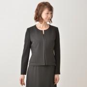東京ソワール ダブルペプラムジャケット【QVC】40代・50代レディースファッション
