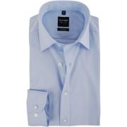 OLYMP Level Five Overhemd Body-Fit Lichtblauw