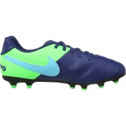 Zapatos Fútbol Niño Nike Jr Tiempo Rio III FG-Azul
