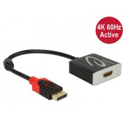 DeLock Adapter Displayport 1.2 male > HDMI female 4K 60 Hz Active 62734