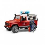Masina pompieri cu pompier Bruder