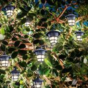 Esotec Guirlande lumineuse LED solaire Asia Style