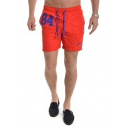 Superdry Water Polo Swim Short Yacht Club Red L