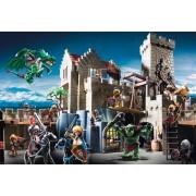 Puzzle Schmidt - Batalia pentru comoara regala, 150 piese, include 1 figurina Playmobil (56090)