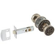 Vicenza Designs DHPR8000-WD-VP San Michele Privacy Door Handle, Wide, Vintage Pewter