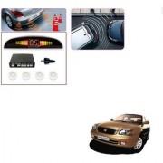 Auto Addict Car White Reverse Parking Sensor With LED Display For Maruti Suzuki Baleno