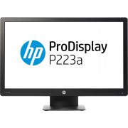 "HP ProDisplay P223a 21.5"" Full HD Black computer monitor"