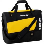erima Sporttasche 5-CUBES (mit Bodenfach) - gelb/schwarz | L