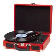 Denver Retro USB Plattenspieler VPL-120 im Koffer in rot