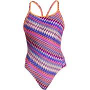 Funkita Diamond Back One Piece Baddräkt Dam flerfärgad DE 34 US 30L 2017 Badkläder