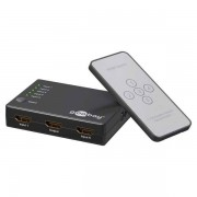 Goobay HDMI 5fach Umschaltbox 5 In / 1 Out Full HD 3D