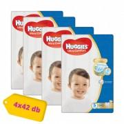 Huggies Ultra Comfort pelenka, Junior 5, 12-22 kg, HAVI PELENKACSOMAG 4x42 db