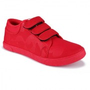 bersache men 1195 red casual sneaker loafer sports boots shoes