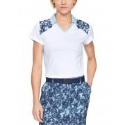 Under Armour Zinger Polo T-shirt blauw wit Dames Dames