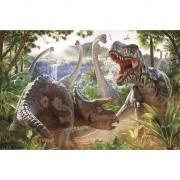 Merkloos Poster dinosauriers 61 x 91 cm wanddecoratie