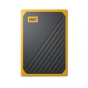 """Твърд диск 1TB Western Digital My Passport Go (жълт), външен, 2.5"""" (6.35 cm), USB 3.0"""