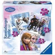 Ravensburger 072767 Disney Jégvarázs Anna, Elsa és barátaik