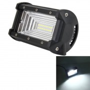 72W 6000K 3000LM auto LED werk licht Flood Light met 24-LEDs SMD-5050 lampen DC 10-48V(White Light)