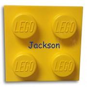 LEGO Storage Brick Container Yellow