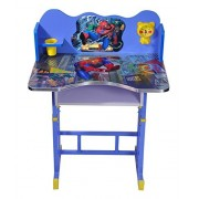 3 D Character Spiderman Kids Table Chair