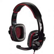 HAMA Gejmerske slušalice Fire Starter (Crne/Crvene)