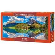 Puzzle panoramic Emerald Lake, 600 piese