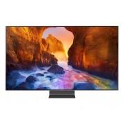 """Samsung Tv 65"""" Samsung Qe65q90rat Qled Q90r 2019 4k Ultra Hd Smart Wifi 4000 Pqi Usb Hdmi Refurbished Carbon Silver"""