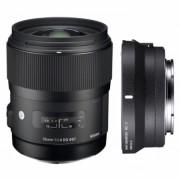 Kit Sigma 35mm F1.4 DG HSM Canon [A]+ Sigma MC-11