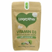 Vitamina D3 naturala, cu ulei de nuca de cocos, Together, 30 capsule