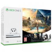 Microsoft igrača konzola Xbox One S 1 TB + Assassin's Creed Origins + R6 Siege