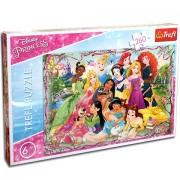 Puzzle Printesele Disney 200 piese