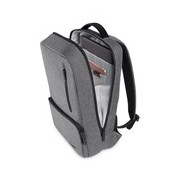 "Belkin Classic Pro Carrying Case (Backpack) for Acer, Samsung, Google, HP, Apple, Lenovo, Nokia, Microsoft 39.6 cm (15.6"") Notebook, Chromebook - Heather Gray, Black"