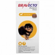 Bravecto for Toy Dogs 4.4 to 9.9lbs (Yellow) 2 Chew